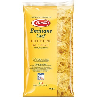 Grosspackung Barilla Emiliane Chef Fettuccine 6 x 1 kg = 6 kg