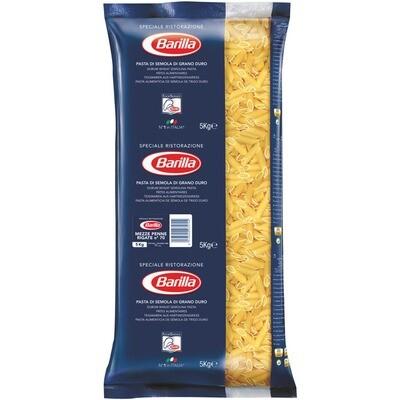 Grosspackung Barilla Mezze Penne Rigate 3 x 5 kg = 15 kg