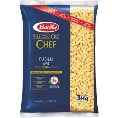 Grosspackung Barilla Selezione Oro Fussili 3 x 3 kg = 9 kg