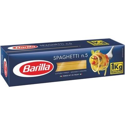 Grosspackung Barilla Spaghetti Nr. 5 / 12 x 1 kg = 12 kg