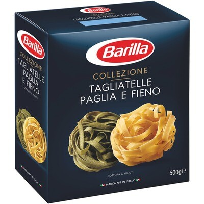 Grosspackung Barilla Tagliatelle grün/gelb 12 x 500 g = 6 kg