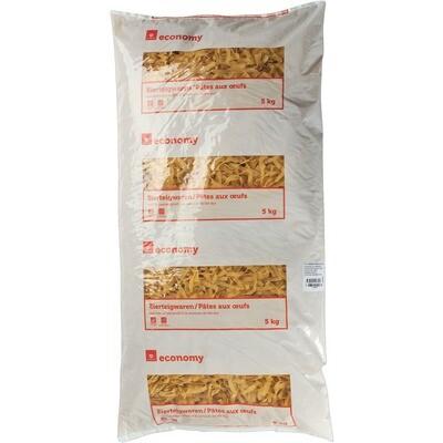 Grosspackung Economy 2 Ei Teigwaren Bandnudeln 8 mm 5 kg