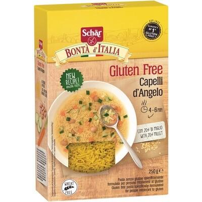 Grosspackung Dr. Schär Capelli D'angelo glutenfreie Pasta 10 x 250 g = 2,5 kg