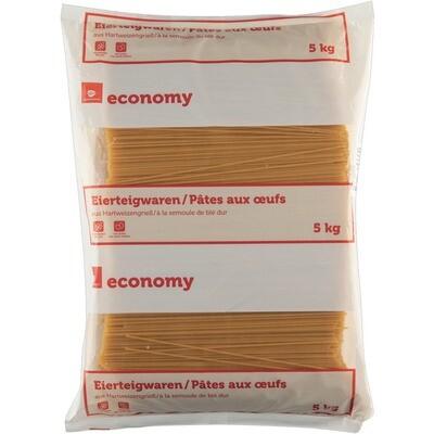 Grosspackung Economy 2 Ei Teigwaren Spaghetti 5 kg