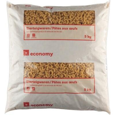 Grosspackung Economy 2 Ei Teigwaren Hörnli 5 k