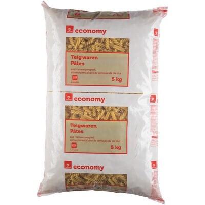 Grosspackung Economy Fusilli Hartweizengrieß 5 kg