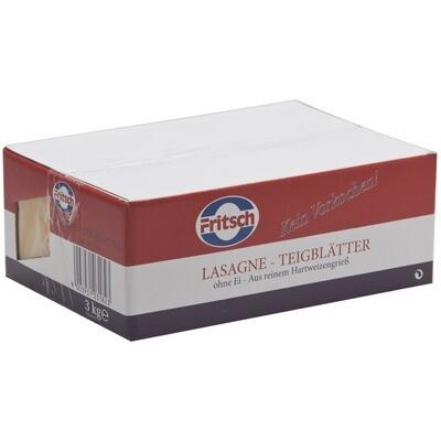 Grosspackung Fritsch Lasagne gelb 3 kg