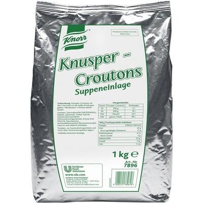 Grosspackung Knorr Knusper Croutons 4 x 1 kg = 4 kg