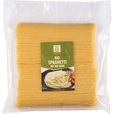 Grosspackung natürlich für uns Bio 2-Ei Teigwaren Spaghetti 3 kg
