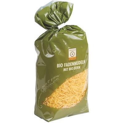 Grosspackung natürlich für uns Bio 3 Ei Teigwaren Fadennudeln 10 x 500 g = 5 kg