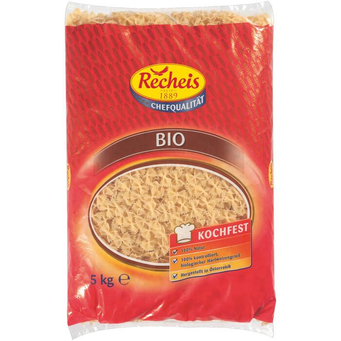 Grosspackung Recheis Bio Farfalle Nudeln 5 kg