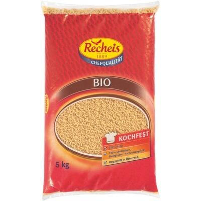 Grosspackung Recheis Bio Hörnchen 5 kg Pasta Nudeln Hörnli