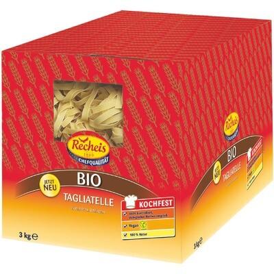 Grosspackung Recheis Bio Tagliatelle 3 kg Pasta Nudeln