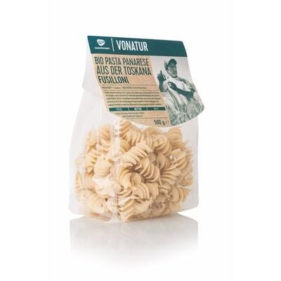 Grosspackung Vonatur Pasta Panarese Bio Fusilloni 8 x 500 g = 4 kg