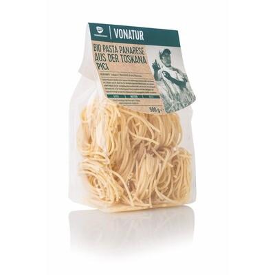Grosspackung Vonatur Pasta Panarese Bio Pici 8 x 500 g = 4 kg