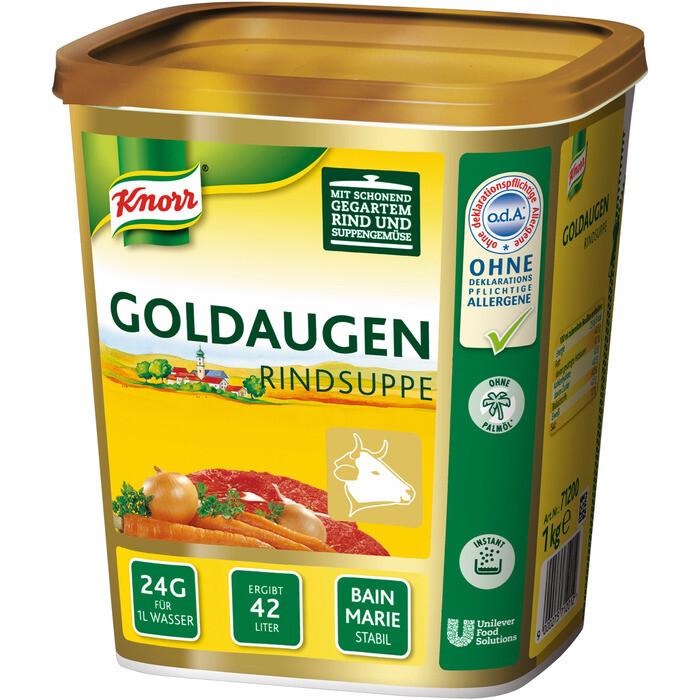 Grosspackung Knorr Goldaugen Rindsuppe 1 kg