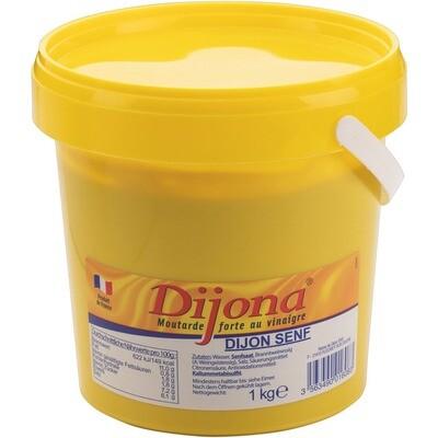 Grosspackung Dijona Dijon Senf 6 x1 kg = 6 kg