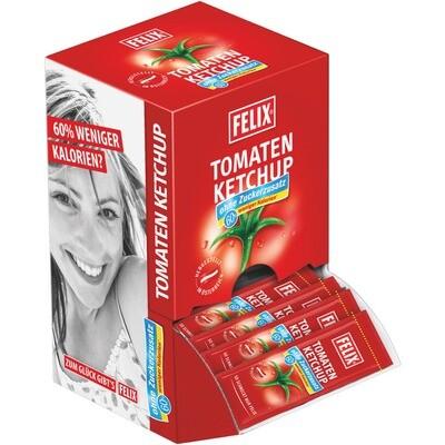 Grosspackung Felix Portionen Ketchup ohne Zuckerzusatz 100x20g = 2 kg