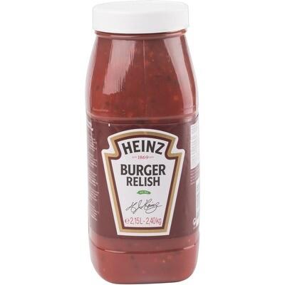 Grosspackung Heinz Burger Relish Sauce 2,5 kg