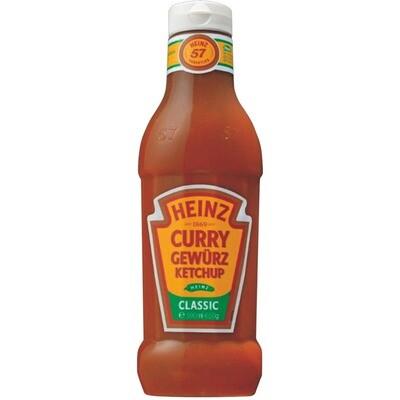 Grosspackung Heinz Curry Gewürzketchup 8 x 590 ml = 4,72 Liter
