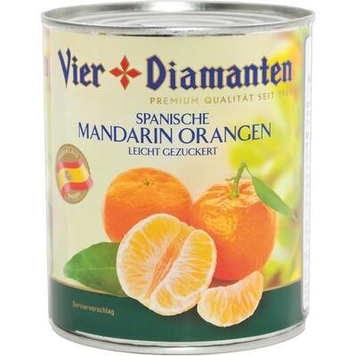Grosspackung 4-Diamanten Mandarin Orangen 6 x 840 ml = 5,04 Liter