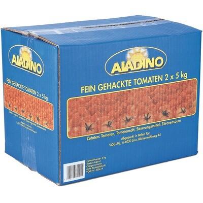 Grosspackung Aladino Tomaten fein gehackt 2x5 kg
