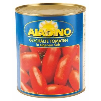 Grosspackung Aladino Tomaten geschält 6 x 0,48kg = 2.88 kg