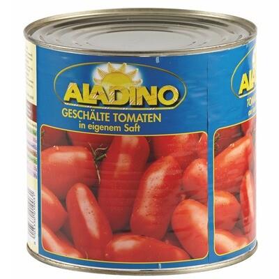 Grosspackung Aladino Tomaten geschält 6 x 1,5 kg = 9 kg