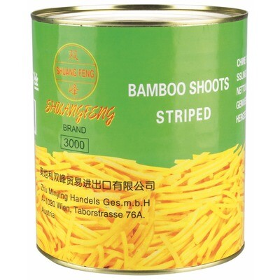 Grosspackung Bambusstreifen 6 x 1,8 kg = 10,8 kg