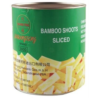 Grosspackung Bambusscheiben 6 x 1,8 kg = 10,8 kg