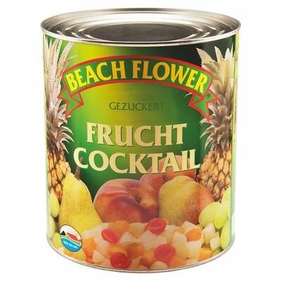 Grosspackung Beach Flower 5 Fruchtcocktail 6 x 1.85 kg = 11,1 kg