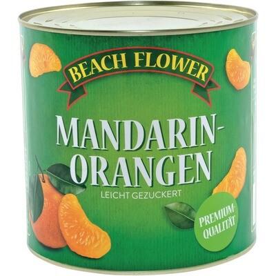 Grosspackung Beach Flower Mandarinorangen Spalten 6 x 1,5 kg = 9 kg