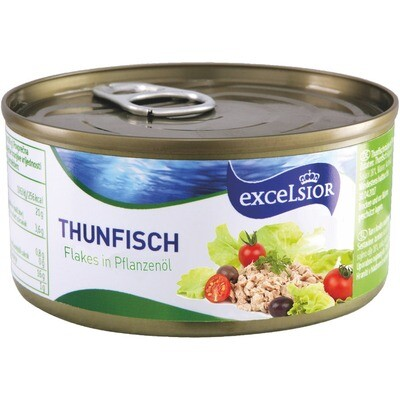 Grosspackung Bergriver Thunfisch in Öl 6 x 185 g = 1.11 kg