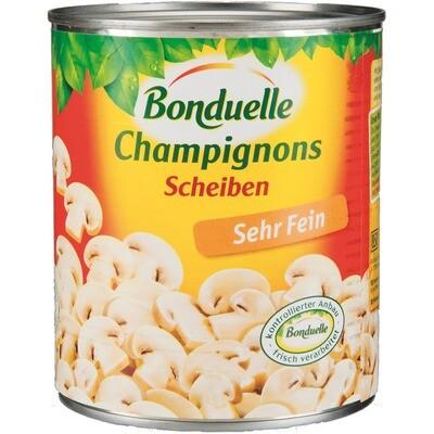 Grosspackung Bonduelle Champignon Scheiben 2. Wahl 12 x 850 ml