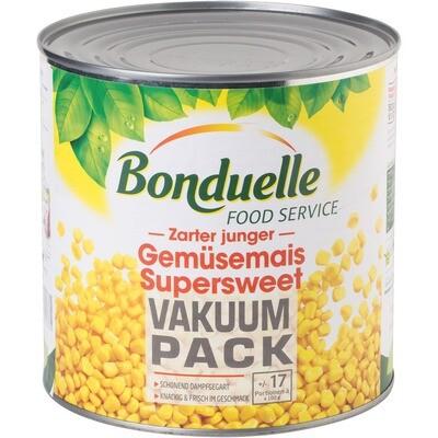 Grosspackung Bonduelle Zarter Junger Gemüsemais 3 x 1.775 kg = 5,325 kg