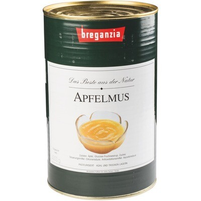 Grosspackung Breganzia Apfelmus 4,3 kg