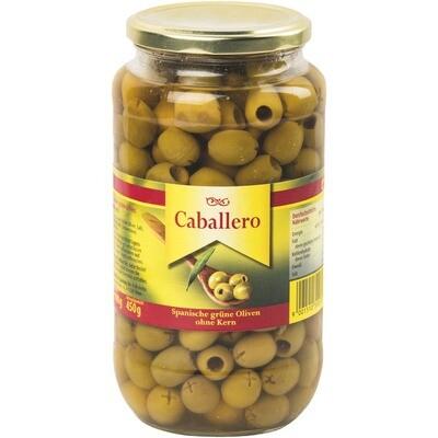 Grosspackung Caballero Oliven grün 340/360 ohne Kern 6 x 900 g