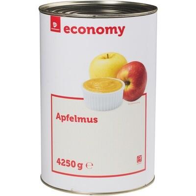 Grosspackung Economy Apfelmus gezuckert 4,25 kg