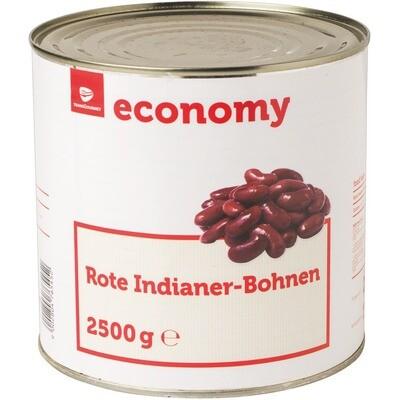 Grosspackung Economy Indianer Bohnen 6 x 1,5 kg = 9 kg Kidney Bohnen