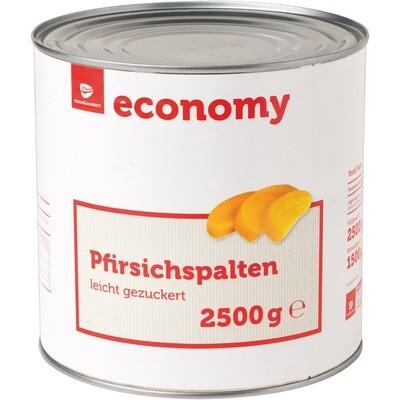 Grosspackung Economy Pfirsichspalten 6 x 1,5 kg = 9 kg
