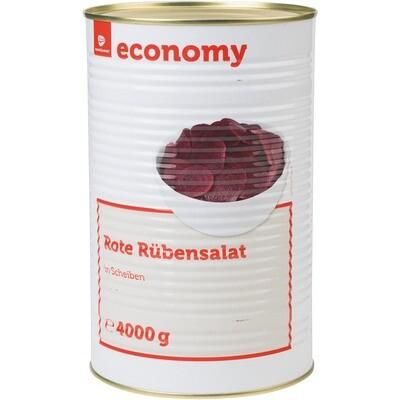 Grosspackung Economy Rote Beete / Rüben Salat Scheiben 2,35 kg Randen-Salat