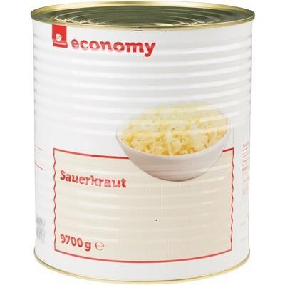Grosspackung Economy Sauerkraut 9,7 kg