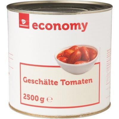 Grosspackung Economy Tomaten geschält 6 x 2,5 kg = 15 kg