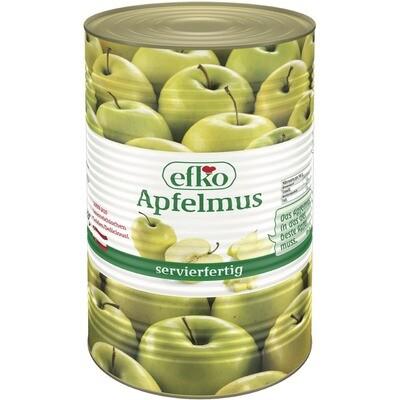 Grosspackung Efko Apfelmus 4250 ml