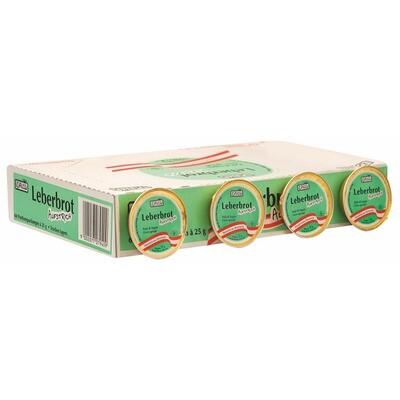 Grosspackung Ham Leberbrot Aufstrich 60x25 g= 1,5 kg