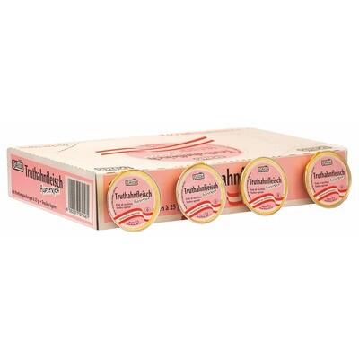 Grosspackung Ham Truthahn Aufstrich 60x25 g= 1,5 kg