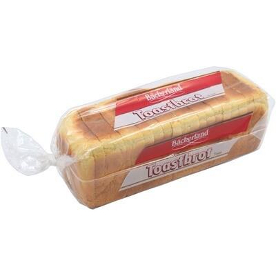 Grosspackung Bäckerland Toast 8 x 500 g = 4 kg