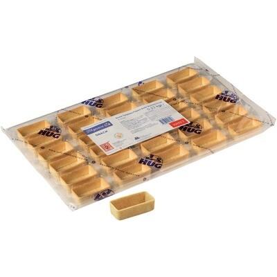 Grosspackung Hug Tartelettes Snack Rechteck 5,3 cm 30 Stk.