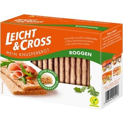Grosspackung Leicht & Cross Roggen 8 x 125 g = 1,56 kg