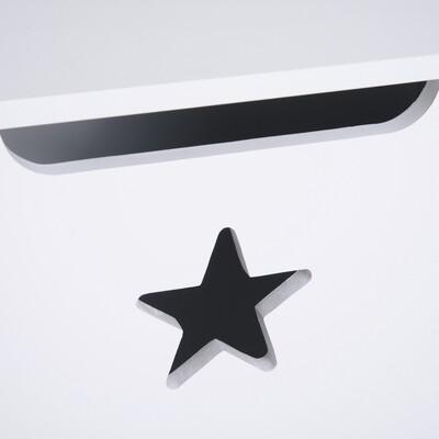 HOMCOM® Spielzeugkiste Kinder Aufbewahrungsbox Sitztruhe Sicherheitsscharnier Weiss MDF 62 x 40 x 46,5 cm